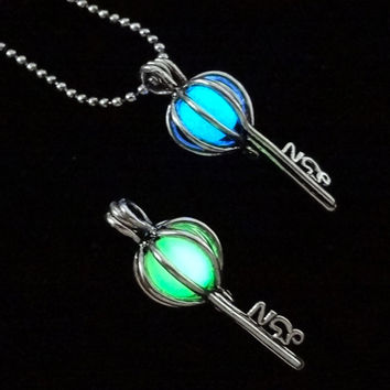 PRE-ORDER ONLY Sacred Key Of Wisdom Luminous Pendant Necklace