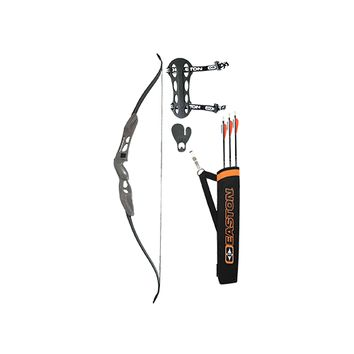 Youth Recurve Bow Kit w/Black Arrows & Quiver