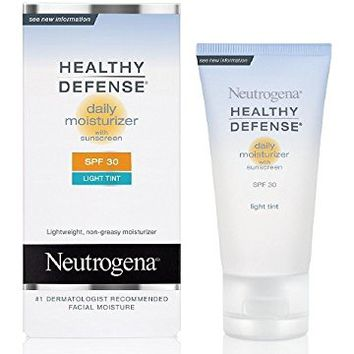 Neutrogena Healthy Defense Daily Moisturizer with Helioplex, SPF 30, 1.7 Ounce