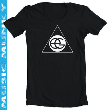 like Ellie Goulding triangle T-Shirt, new male or female, different colours, music tee, Halcyon