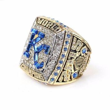 CREYRQ5 SPORTS RING * 2015 KANSAS CITY 'ROYALS' WORLD SERIES * CHAMPS/ ..fast delivery