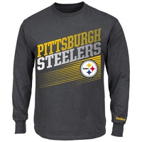 Majestic Pittsburgh Steelers Shed Blockers Tee