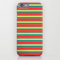Candy Lines iPhone & iPod Case by Titus Ruiz