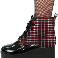 PLAID TO THE BONE BOOTS