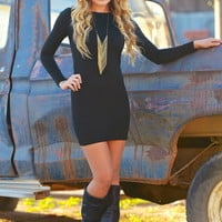 PIKO Dreams Are Forever Dress - Black