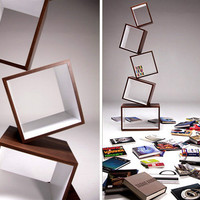 Equilibrium Bookcase from MALAGANA