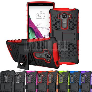 Hybrid Impact Kickstand Rugged Case Hard Protective TPU+PC Cover For LG G4 Beat/G4s/G4 S/G4 Vigor H731 5.2 inch(Not for LG G4)