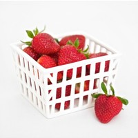 Farmer's Market Strawberry Basket By Roost - kitchen & dining - house & home