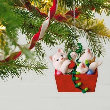 Mischievous Kittens Ornament