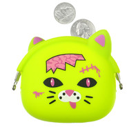 ZOMBIE CAT COIN PURSE