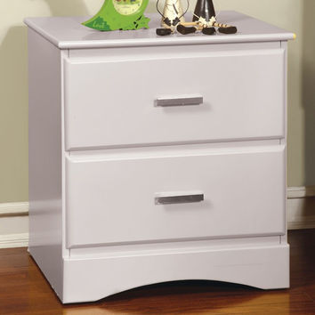 Prismo White Night Stand - CM7941N Free Shipping