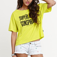 WeSC Message Crop Box Tee at PacSun.com