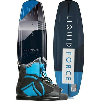 Liquid Force Omega Grind Wakeboard Package - 2018