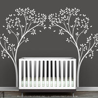 Tree Canopy Portal Wall Sticker by LeoLittleLion on Etsy