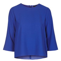 Side Split Long Sleeve Top - Topshop