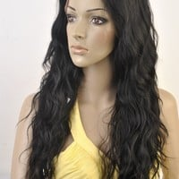 SWISS LACE 100% VIRGIN HUMAN HAIR LOOSE WAVE TEXTURE. 20""