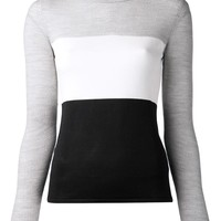 Narciso Rodriguez Colorblock Sweater