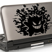 Gengar Pokemon decal for 3DS XL, 3DS
