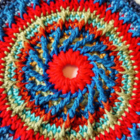 Spinning Wheel Doily