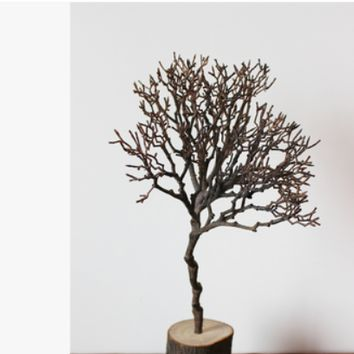 Original Homemade American Country Bird Nest Branch Personality Dried Flower Branch Art Decoration Flower Arrangement Branches