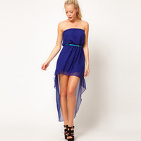 Bqueen Asymmetrical Chiffon Cocktail Dress  TD027L