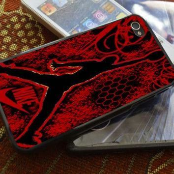 DCKL9 Air Jordan Logo iPhone 4 4S iPhone 5 5S 5C and Samsung Galaxy S2 S3 S4 Case