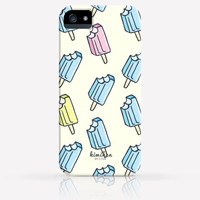 Cute Popsicles Pattern iPhone 4 Case, iPhone 4s Case, iPhone 5 Case, iPhone 5s Case, iPhone Hard Plastic Case