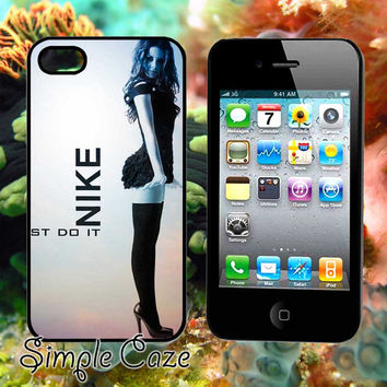 Nike Girl St Do It,Accsessories,Case,Cell Phone,iPhone 4/4S,iPhone 5/5S/5C,Samsung Galaxy S3,Samsung Galaxy S4,Rubber/1312Q11