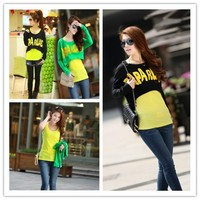 Women : fashion sets batwing-sleeved blouse loose fit round collar top vest final clearance ghl0176