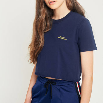 Urban Outfitters Only The Strong Cropped T-Shirt | Urban Outfitters