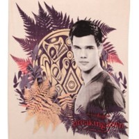 The Twilight Saga Breaking Dawn Jacob Black Tattoo Fleece Throw Blanket