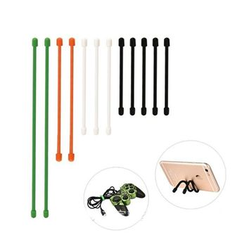 10pcs/lot 6 Inch Long Tough Non-slip Rubber Material Beam Port Bundled Cable Holder Hubs Cable Wire Zip Tie Cord Strap