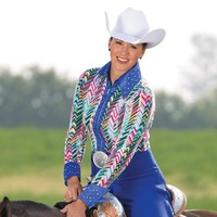 Ladies' Strutting In Style Top - Blouses - Western Show Clothing - Women's