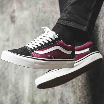 VANS 2018 new fashion men and women trend sports low top shoes F-CSXY