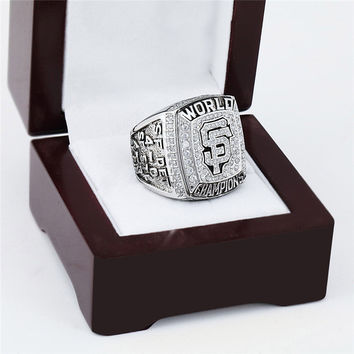 San Francisco Giants Championship Ring 2012 Replica World Series Baseball Rings Antique Jewelry
