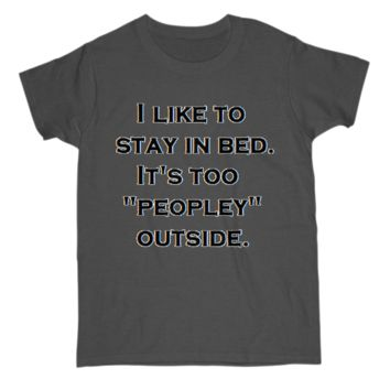 Stay in Bed Tee