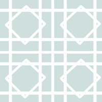Cloud Blue Lattice Fabric