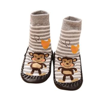 Local Storekids Toddler Baby Anti-Slip Sock Shoes Boots Slipper Socks Gy/11