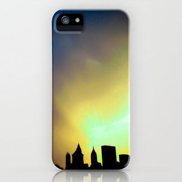 City Of Many Colors iPhone Case by Elizabeth Seward | Society6