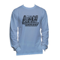 Guardians of the Galaxy American Apparel Long Sleeve Unisex T Shirt