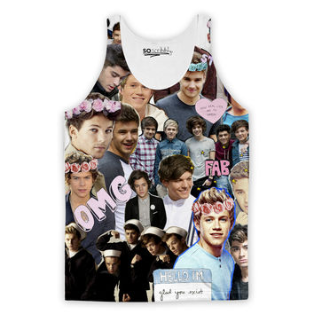 One Direction ASF Collage Tank Top