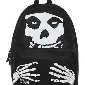 Misfits Fiend Skull Backpack | Hot Topic