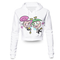 Fairly Odd Parents Crop Hoodie