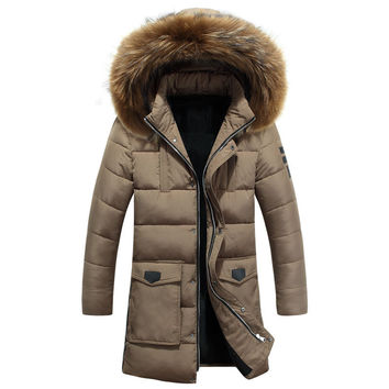 Men Fashion Winter Warm Padded Korean Jacket Coat Outfit [9072705667]