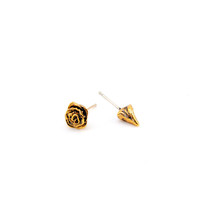 Every Rose Has Its Thorn Earrings. Rose or Antiqued Gold. – Mr. Kate