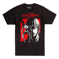 Death Note Ryuk & Light Red Box T-Shirt