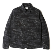 Edwin Tiger Stripe Union Jacket - Black