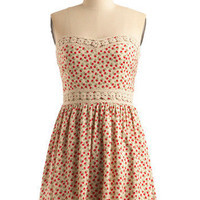 Sup-posy We Fall in Love Dress | Mod Retro Vintage Printed Dresses | ModCloth.com