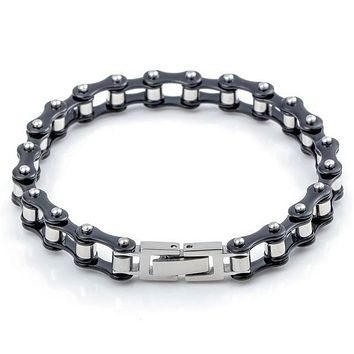 Dandy Men's Bike Chain Bracelet - Multi Color