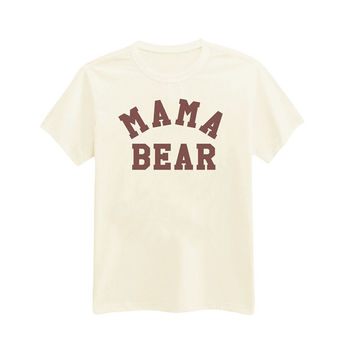 249 - Mama Bear - Mother's Day Gift - Gift for Mom - Printed T-Shirt - by HeartOnMyFingers